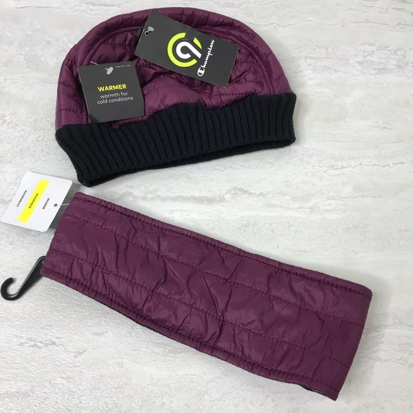 980c6ed263340 NWT Champion winter hat and headband set